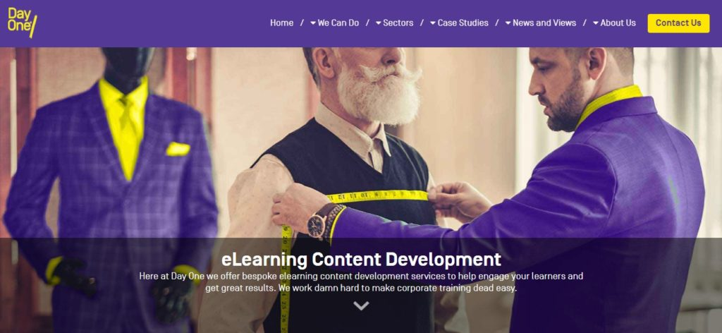 e-Learning content development from Day One Technologies