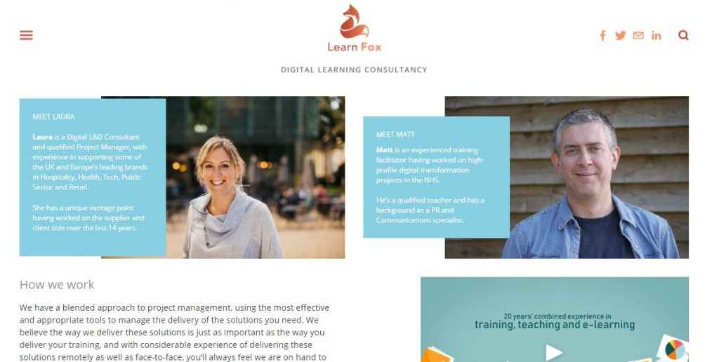 Learn Fox e-Learning Consultants