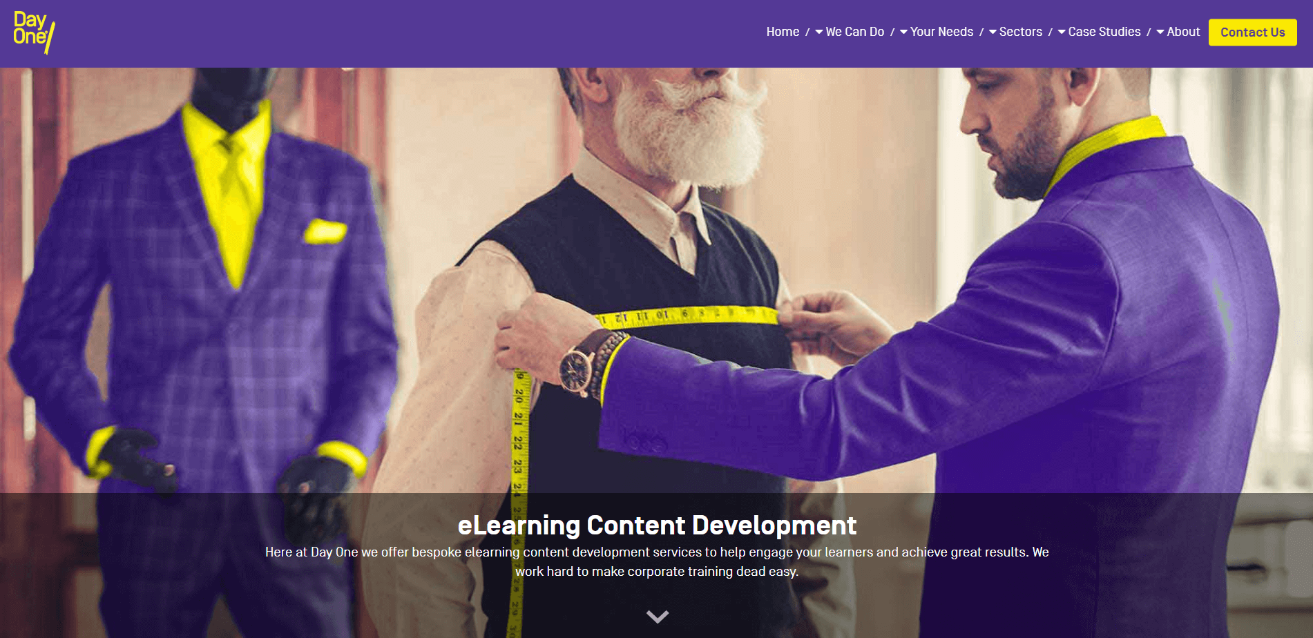 e-learning content development company, Day One