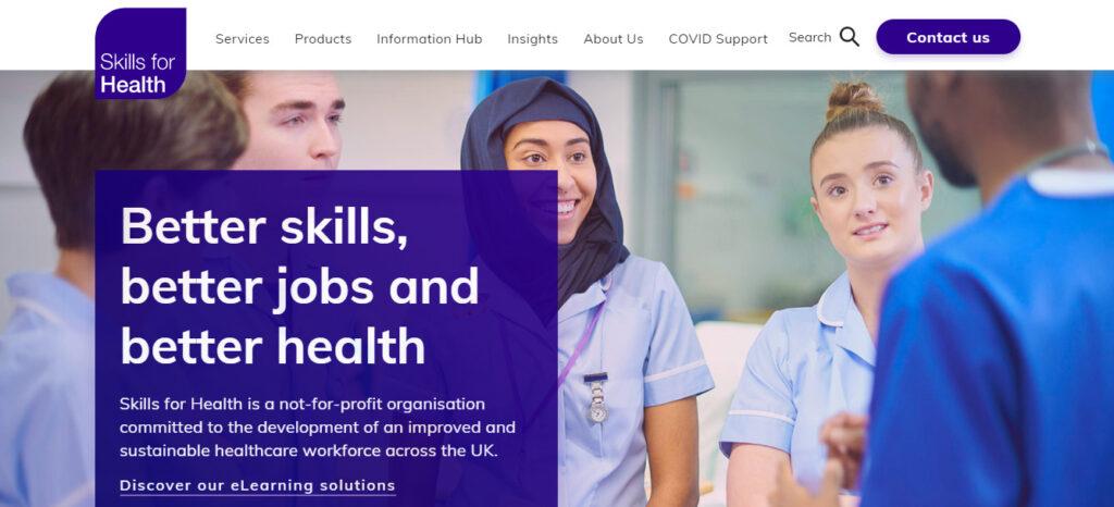 Skills for Health NHS Training